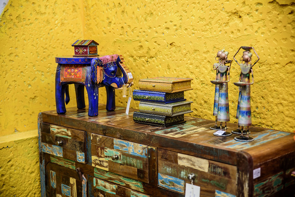 Indian handicrafts from Casa Colonial - perfect little gifts for anyone this Christmas