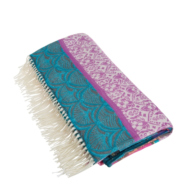 Beautiful Desigual throw - can also be used as a shawl!