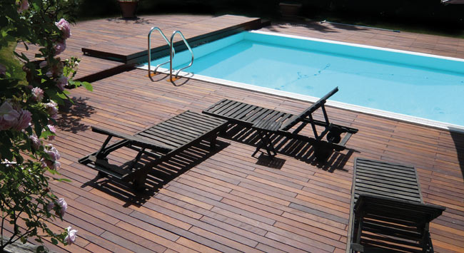 OUTDOOR:  Specialist decking for your outdoor areas like you've never seen before