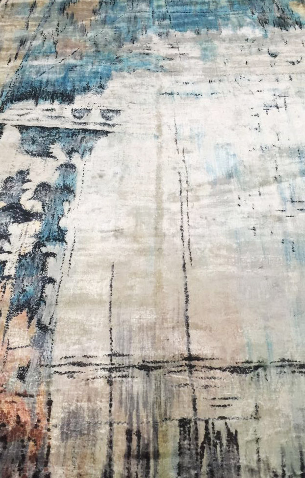 MODERN RUGS:   Handmade contemporary carpets