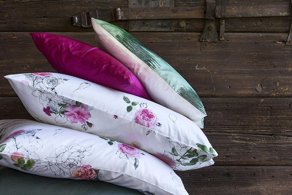 TEXTILES:  Cushions, curtains & throws
