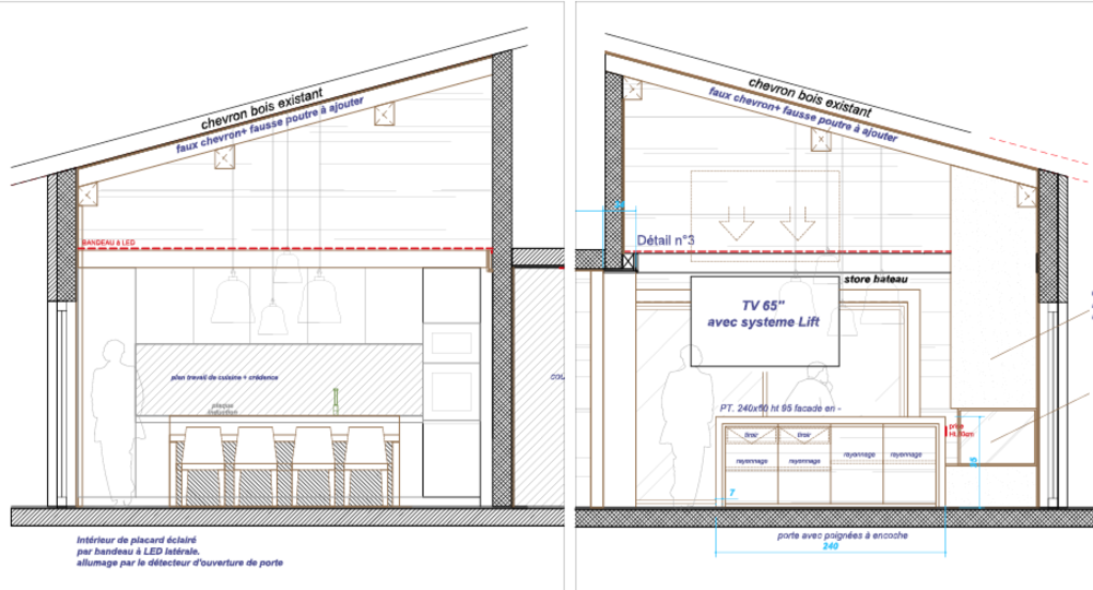 7. FINAL LAYOUT PLANS - FOR CARPENTRY, KITCHEN & FURNITURE•Detailed drawings of the woodwork•Choice of the kitchen, materials, counter top & appliances