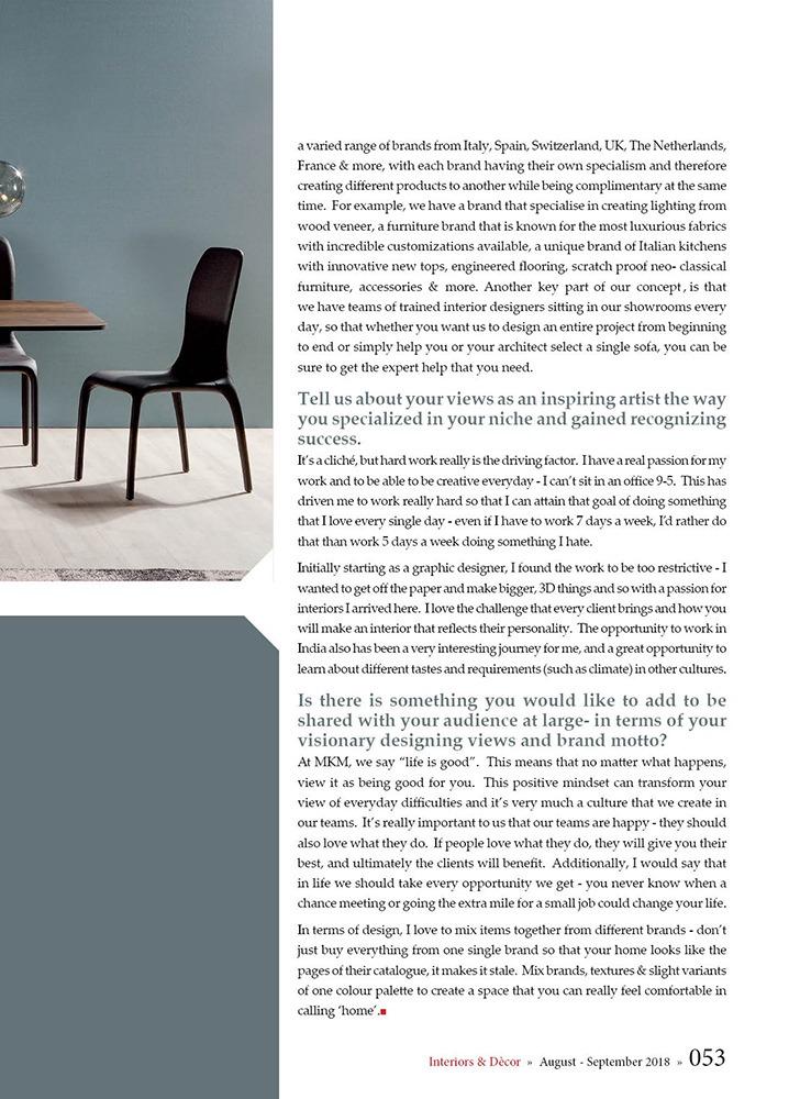 MKM Luxe Suisse - Interiors & Decor Magazine - Brand Media pg2.jpg