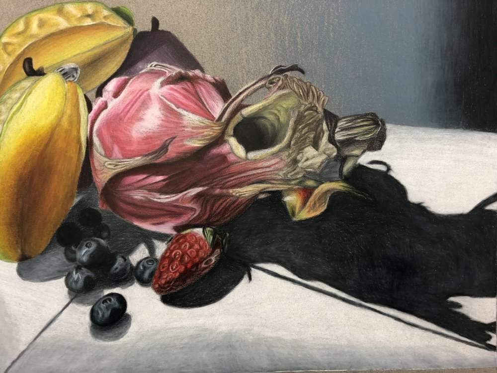 """Mayla Hager, Grade 9, """"In the Kitchen"""""""