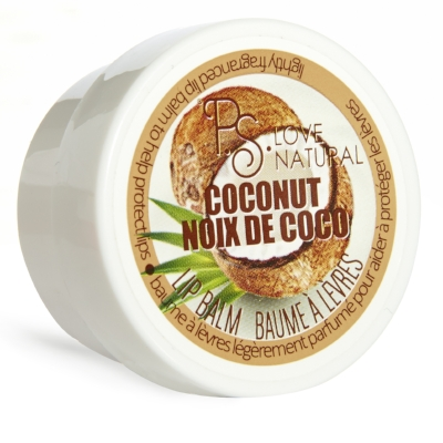 PS Love Natural, Coconut Lip Balm, Primark, from €1.50 in stores mid-December