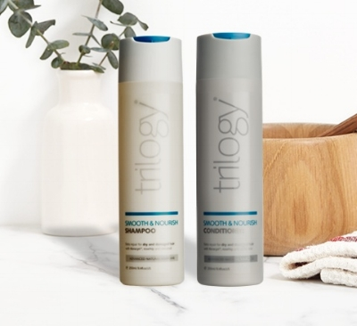 Trilogy Smooth and Nourish Shampoo and conditioner €15.95, Nourish