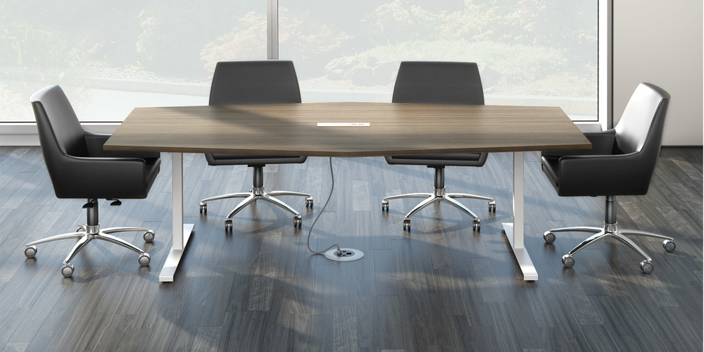 Open Plan - Conference table pedestal base