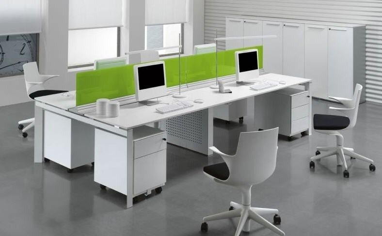 workstations open plan