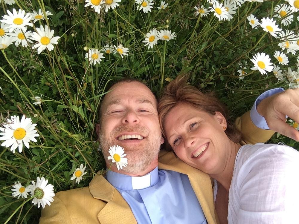 Tillsammans med Kristina leder jag en kurs för par som vill fördjupa sin kärleksrelation.