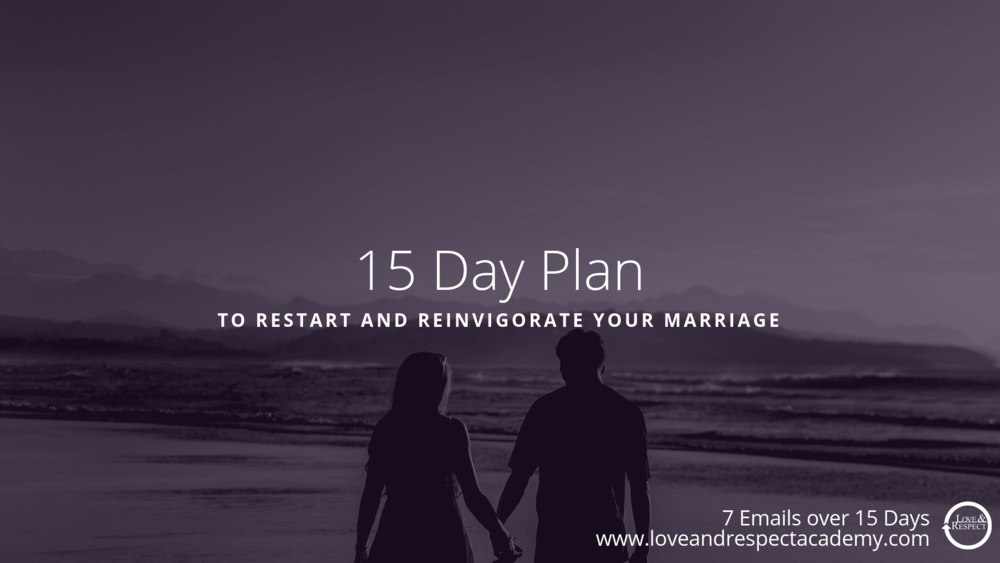 Free 15 Day Marriage Plan Slide -