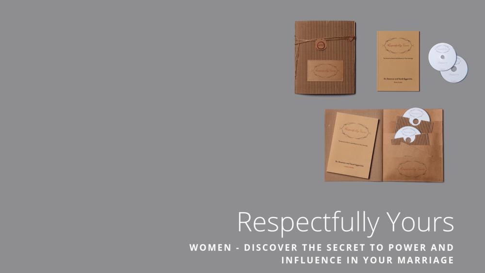 Respectfully Yours - Women's Study Slide -