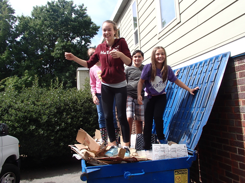 Saint Matthews August 2015 young people in the dumpster fun photo.jpg