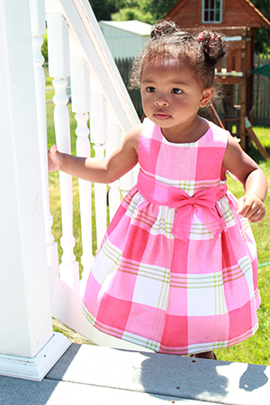 Pink Livia On Stairs.jpg