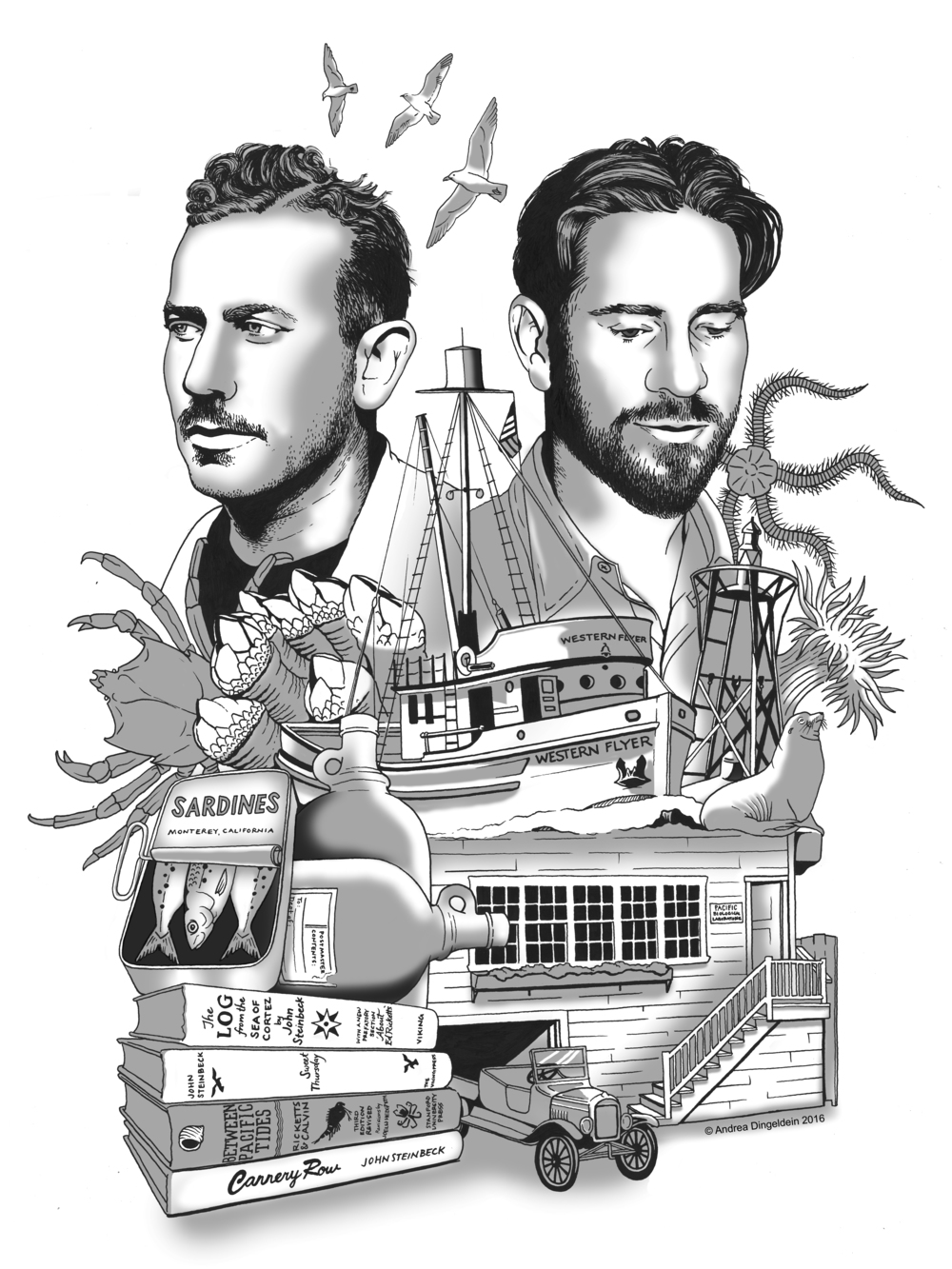 The Adventures of Steinbeck and Ricketts