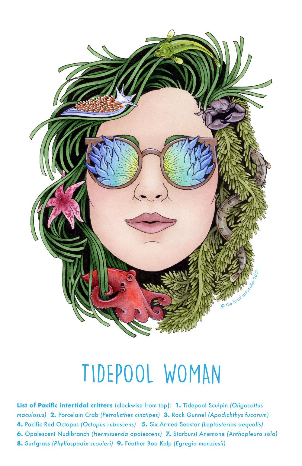 Tidepool Woman