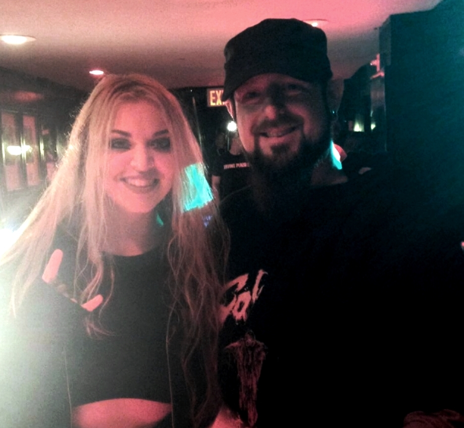 Vicky Psarakis of 'The Agonist' and Jeff Anthony