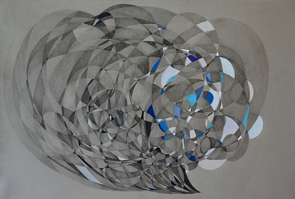 Waimea Bay Pencil on Paper 12in x 18in 2015_Boz Schurr.jpg