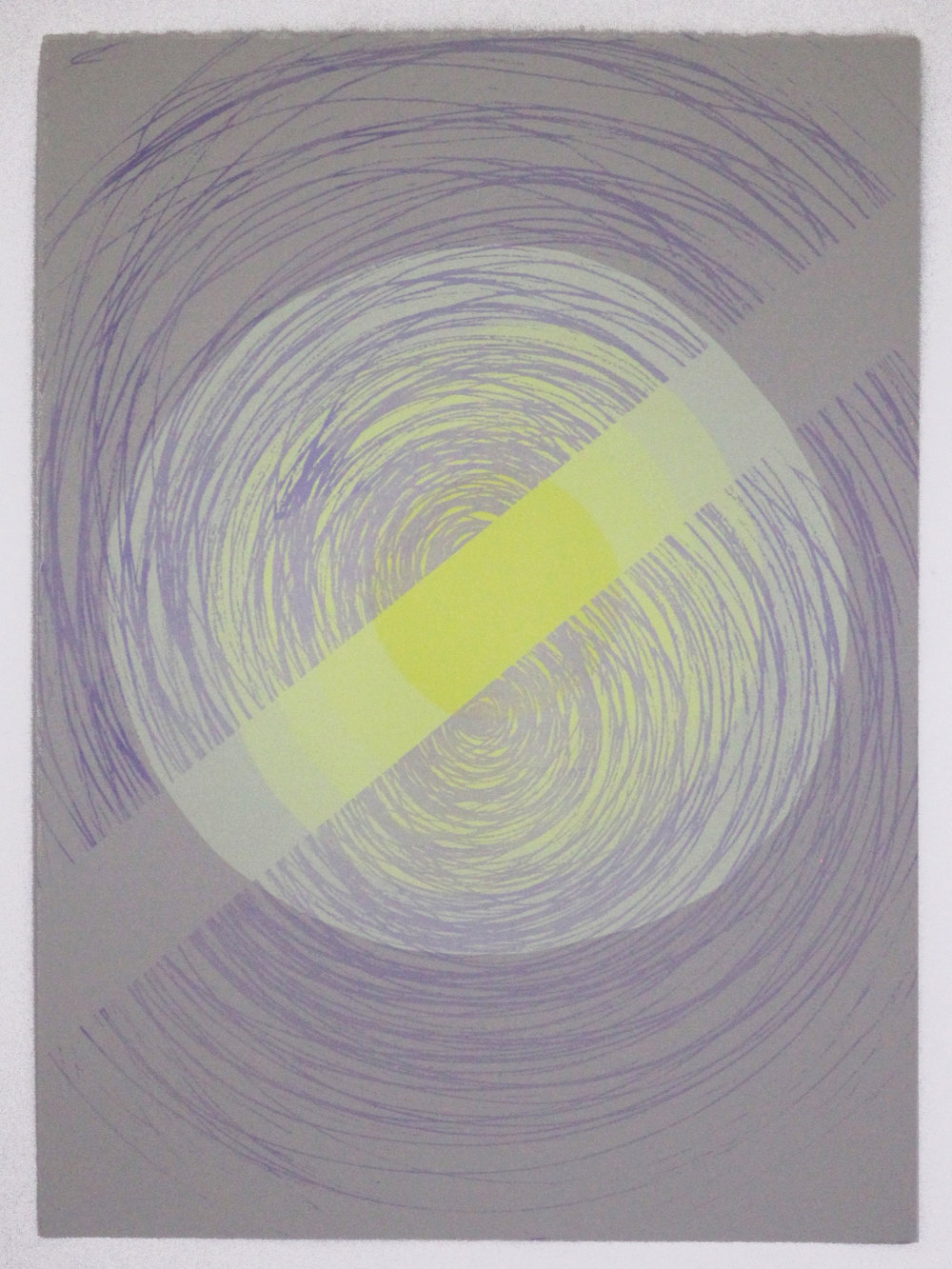 Korsakoff's Syndrome Screen Print on Paper 15in x 11in 2015.JPG