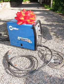 New Millermactic 211 Mig Welder and Hypertherme 30 Plasma Cutter