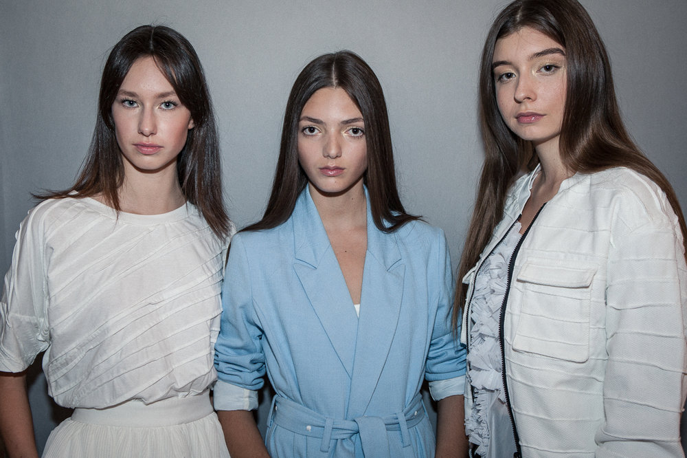Angelina (Just Models), Inês (We Are Models), Maria (L'Agence) for SOFIYA MALICHENKO