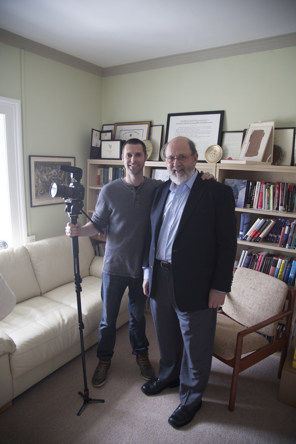 Danny and Professor N.T. Wright