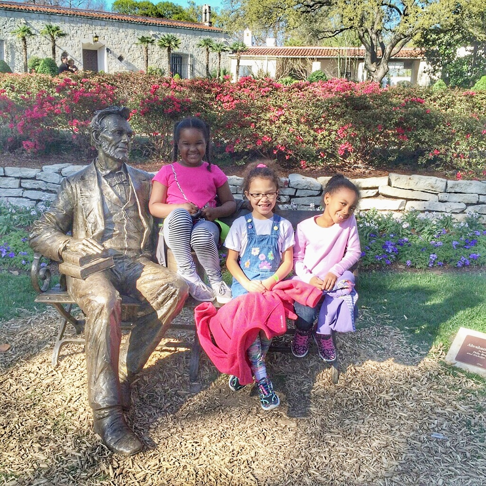 ABE, Grace, Amelia & M'Kaylah are the grandchildren of Bobbie Kerr of Dallas