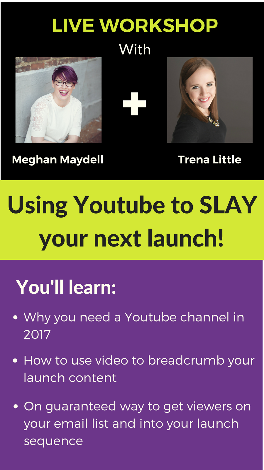 slay your launch with Youtube