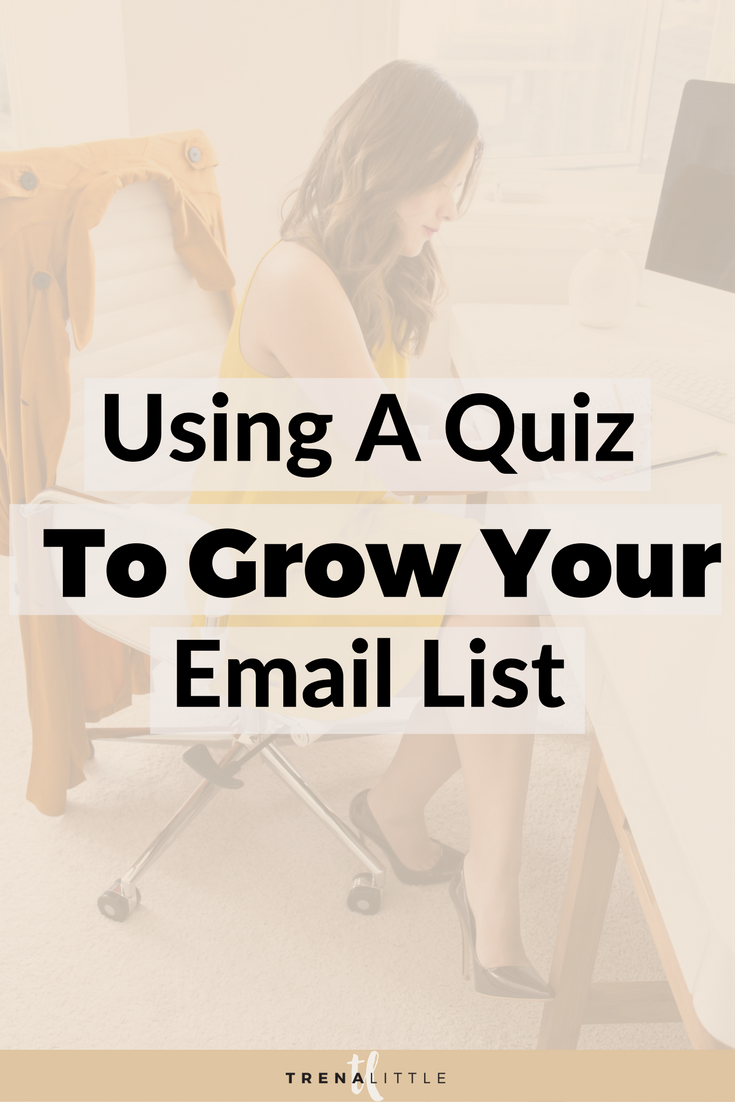 how to use a quiz to grow your email list