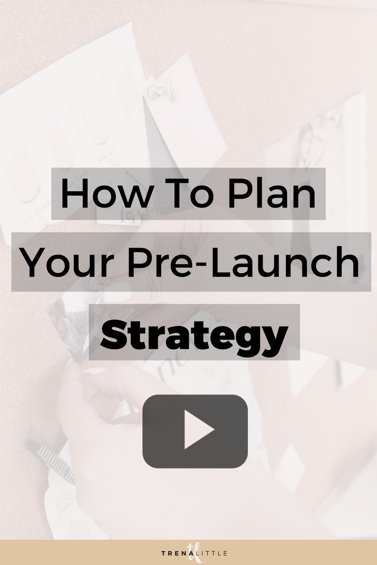 how to plan your prelaunch strategy