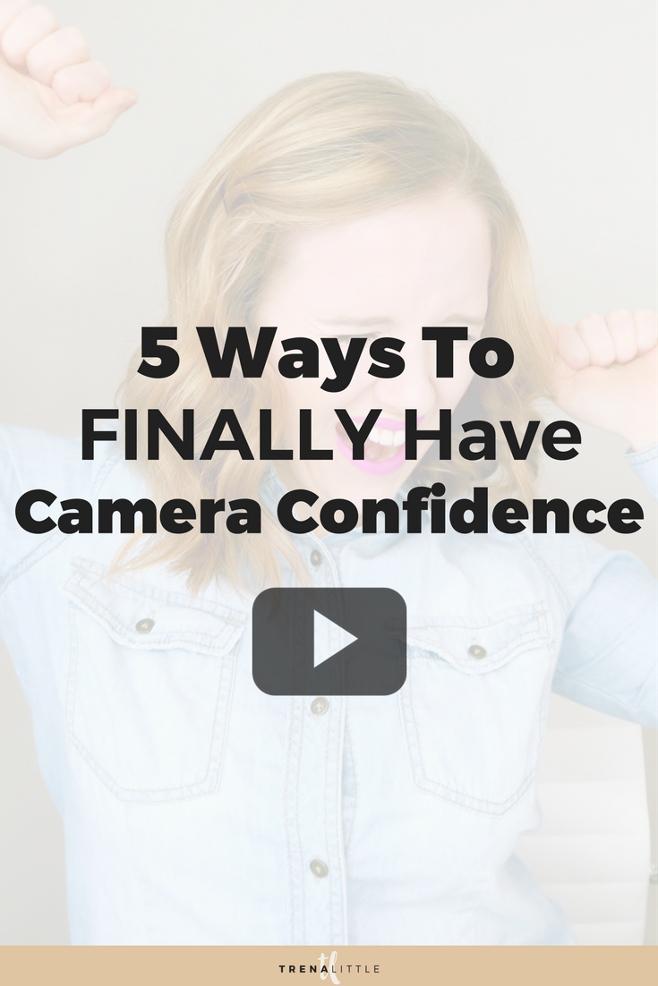 feel comfortable on camera