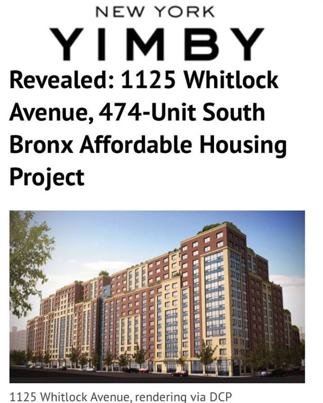 #newyorkyimby #southbronx #affordablehousing