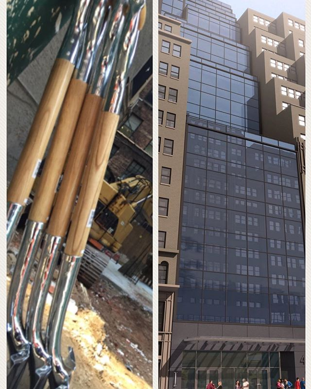 #groundbreaking #groundbreakingceremony #44w37th #commercialarchitecture