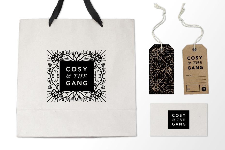 Hoodzpah | Cosy & the Gange Branding