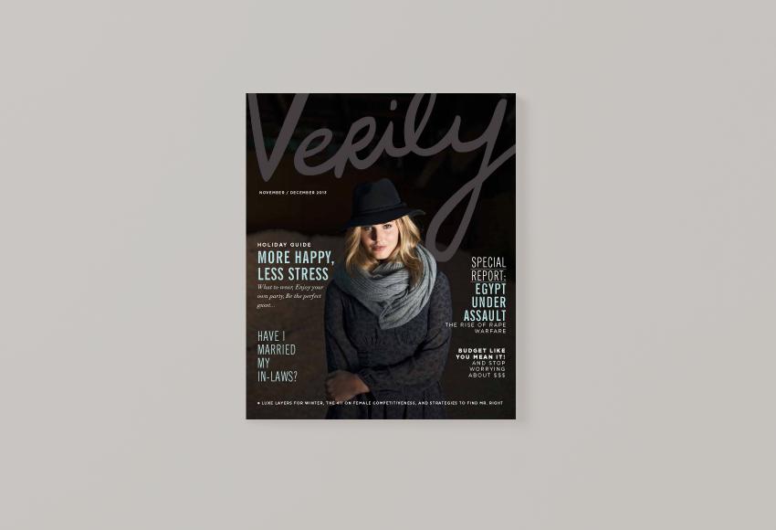 Verily Magazine   Art Direction by Jane Riley