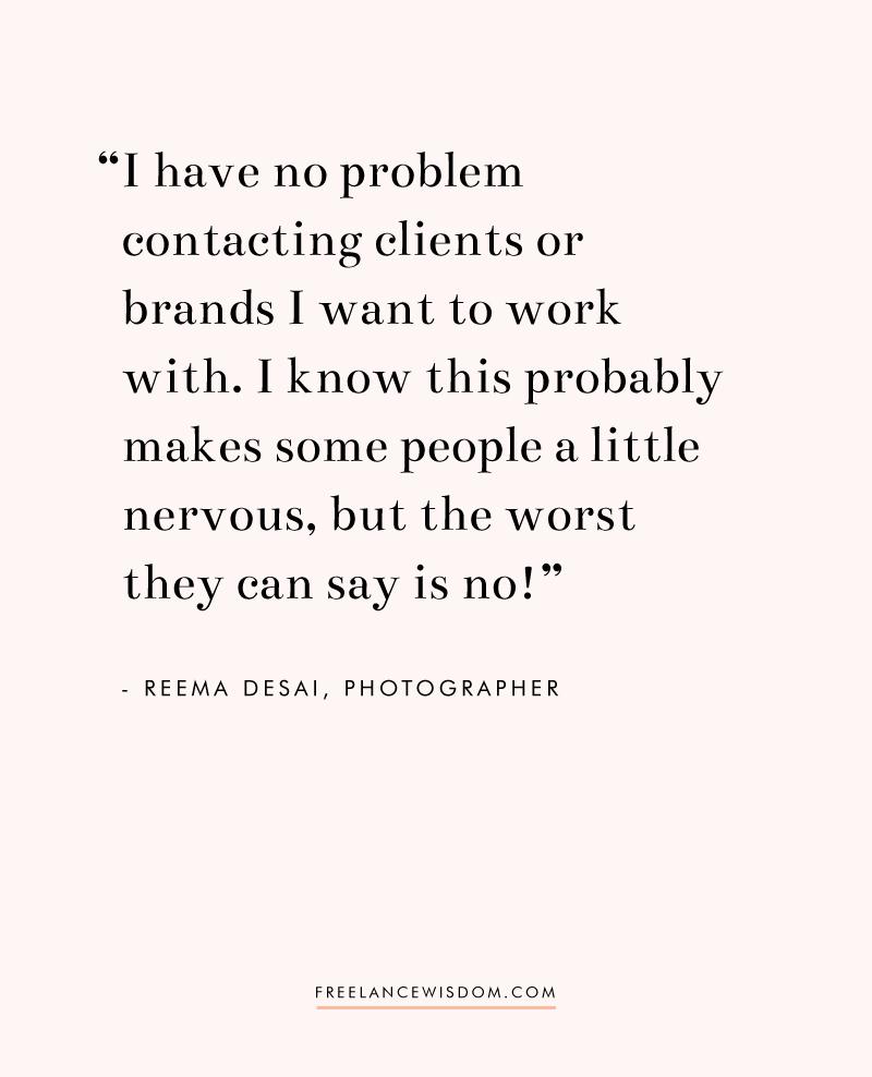 Reema Desai | Freelance Wisdom