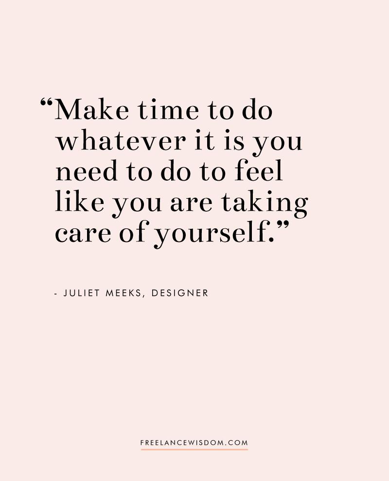 Juliet Meeks | Freelance Wisdom