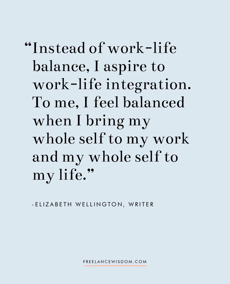 Elizabeth Wellington | Freelance Wisdom