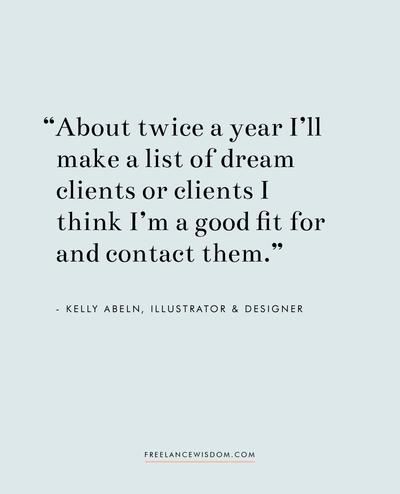 Kelly Abeln | Freelance Wisdom