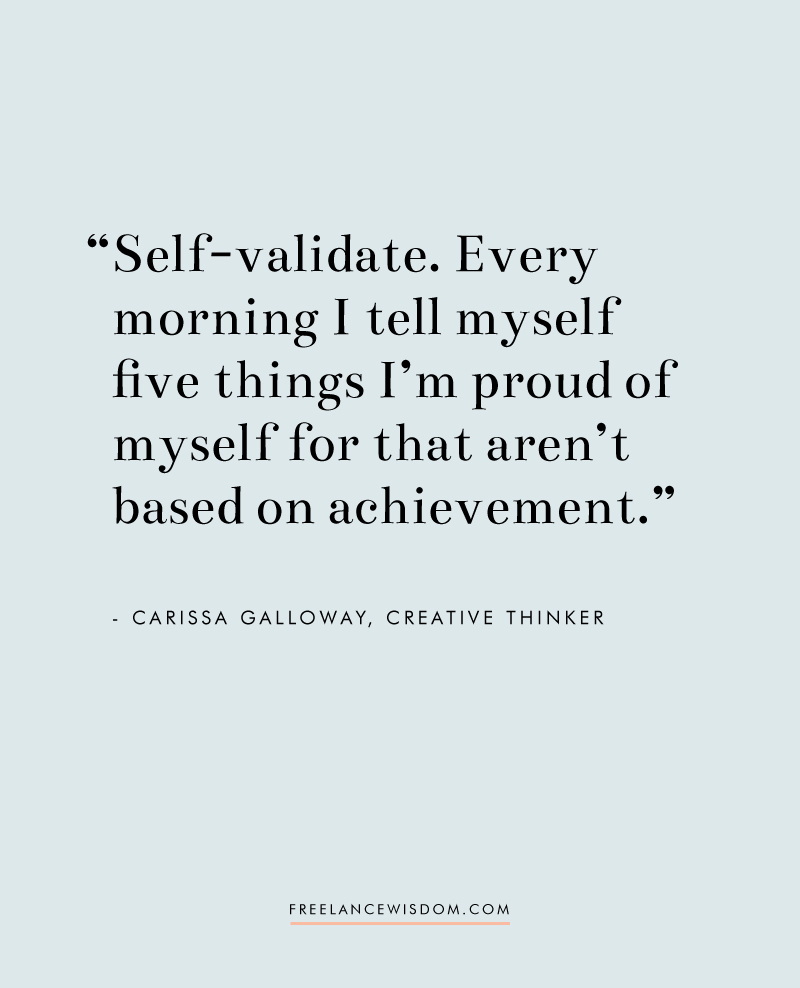 Carissa Galloway | Freelance Wisdom