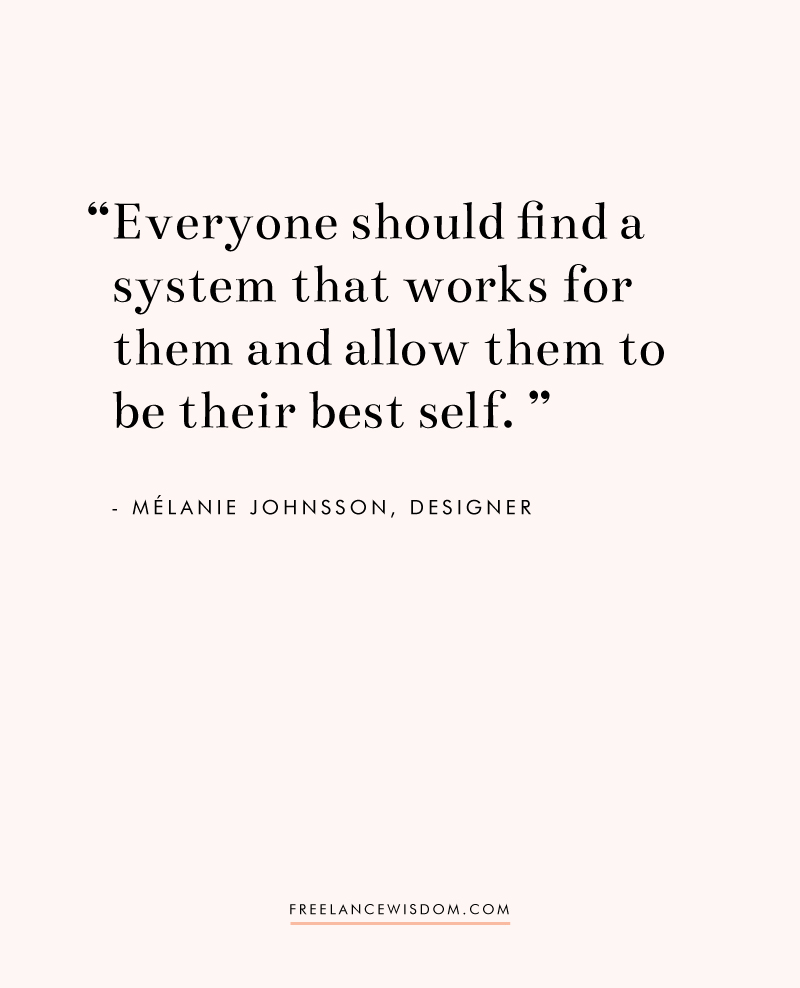 Melanie Johnsson | Freelance Wisdom