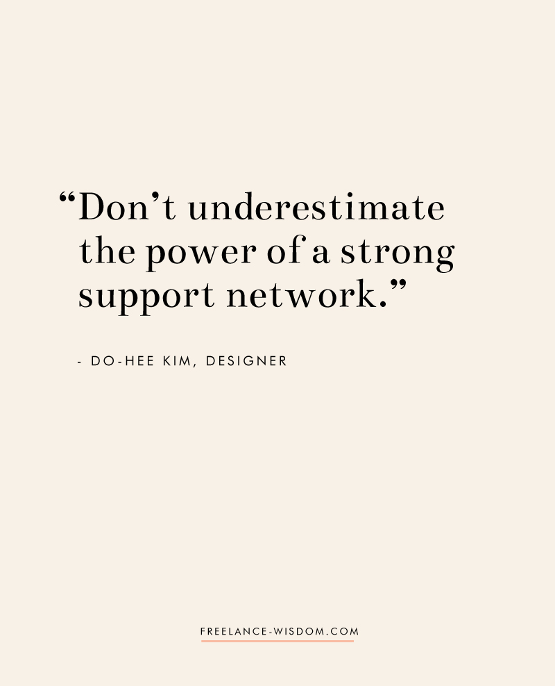 Do-Hee Kim | Power of a Strong Network | Freelance Wisdom