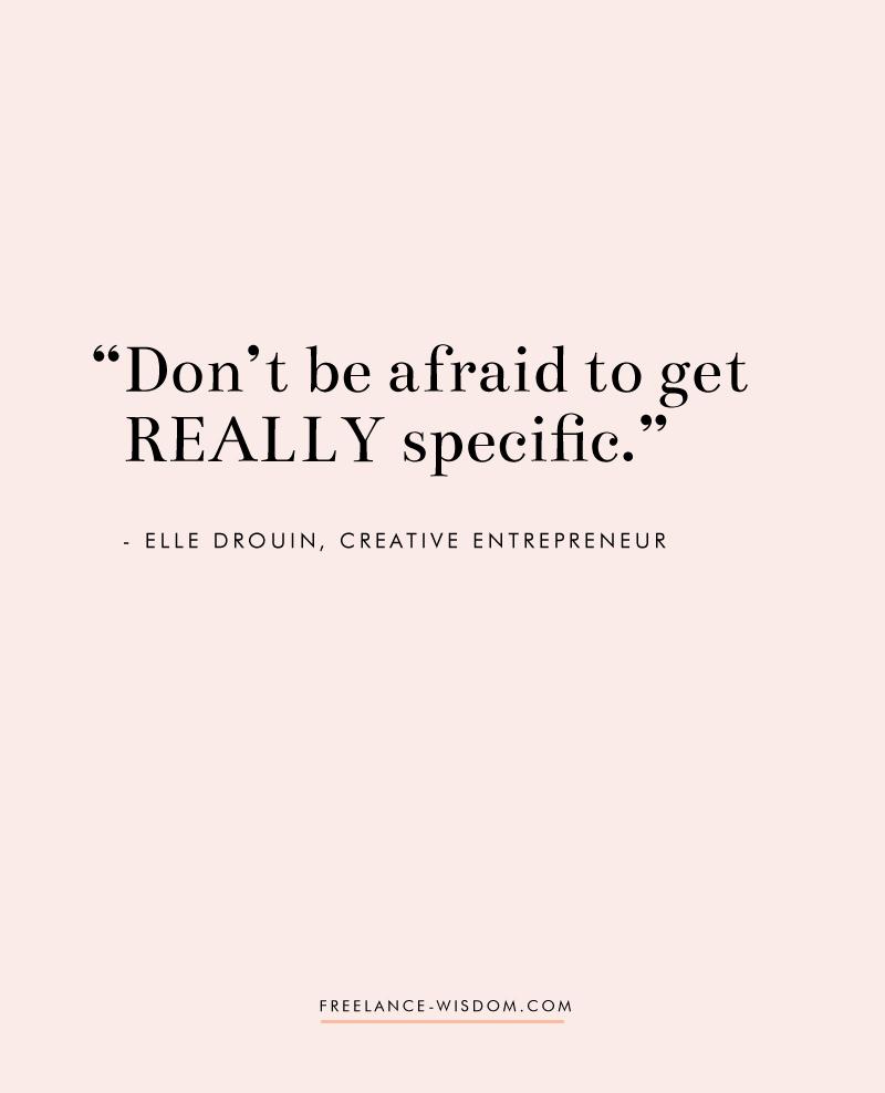 Elle Drouin | Creative Entrepreneur | Freelance Wisdom