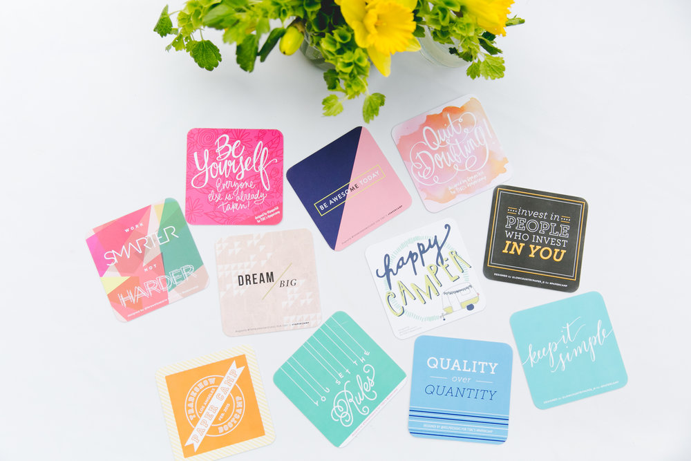 Katie Hunt | Paper Camp Coasters | Freelance Wisdom