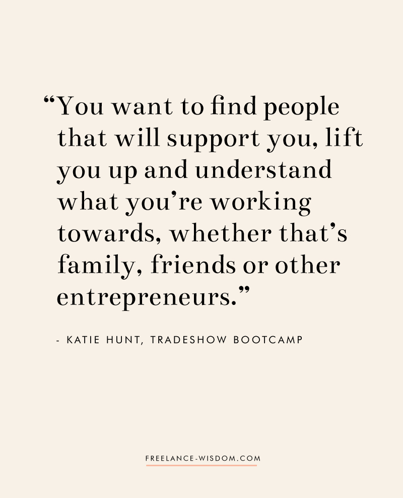 Katie Hunt | Find Your Tribe | Freelance Wisdom