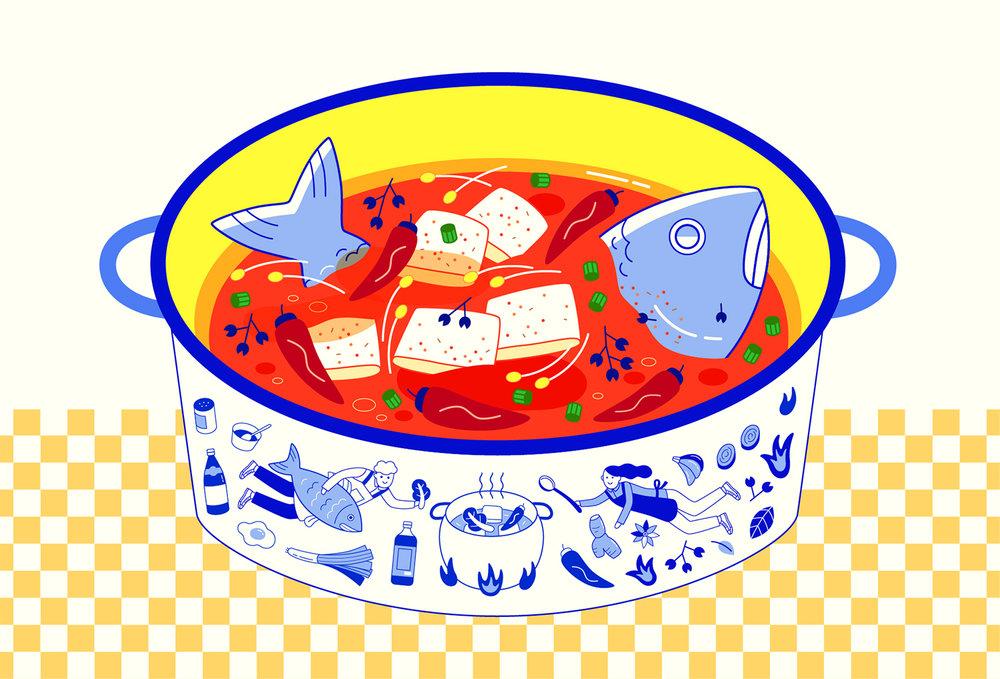 Dingding Hu | Hotpot Fish | Freelance Wisdom