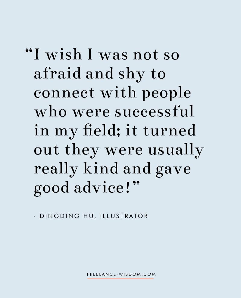 DingDing Hu | Illustrator & Designer | Freelance Wisdom