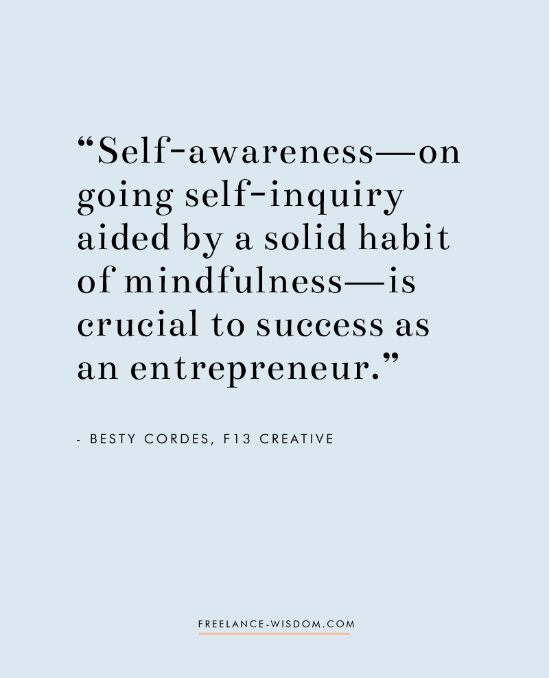 Betsy Cordes | Success as an Entrepreneur | Freelance Wisdom