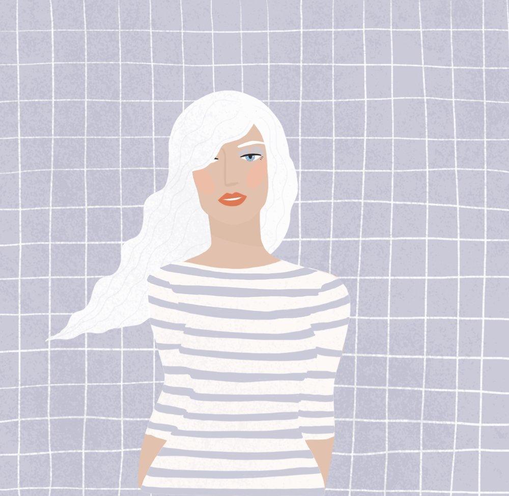 Brook Gossen | White Hair | Freelance Wisdom