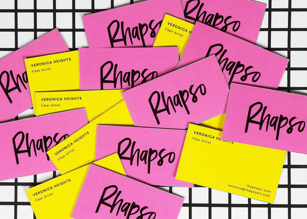 Timia Lewis | Rhapso business cards | Freelance Wisdom