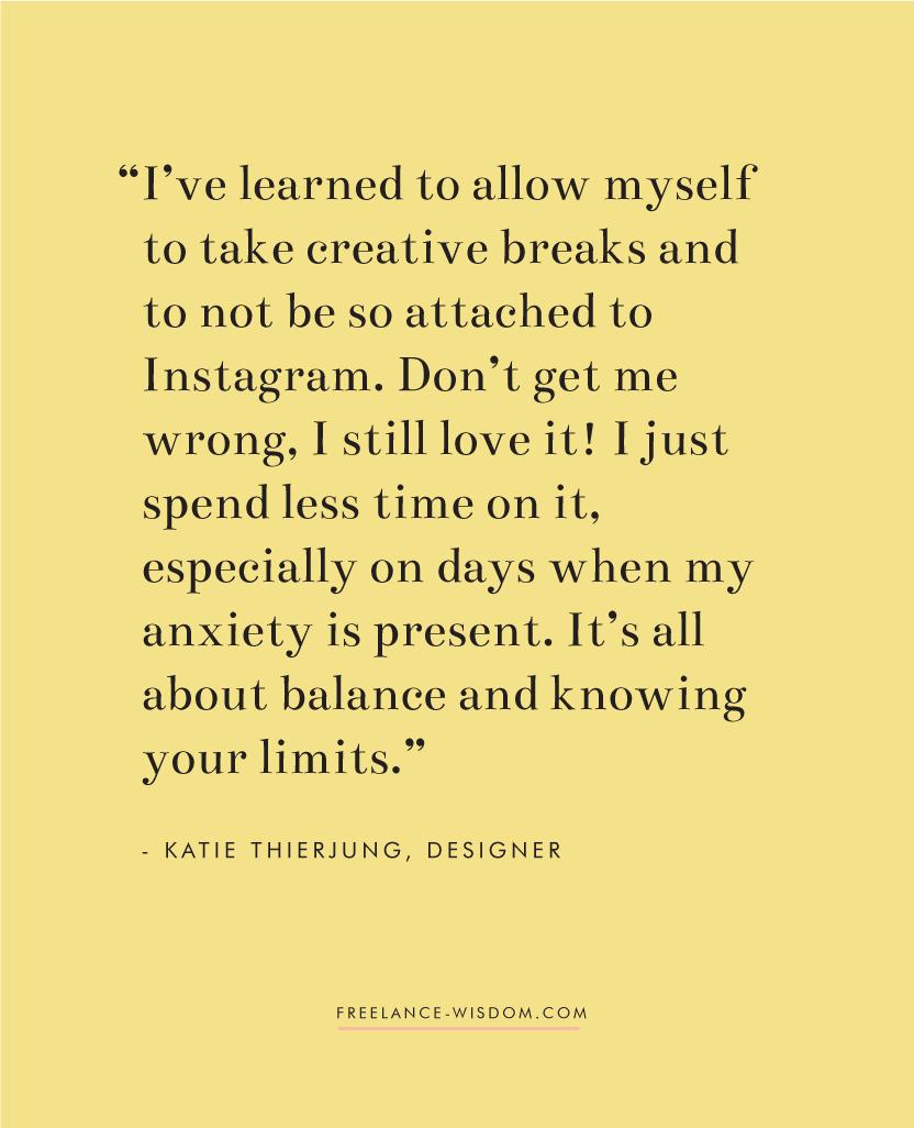Katie Thierjung | Instagram | Freelance Wisdom
